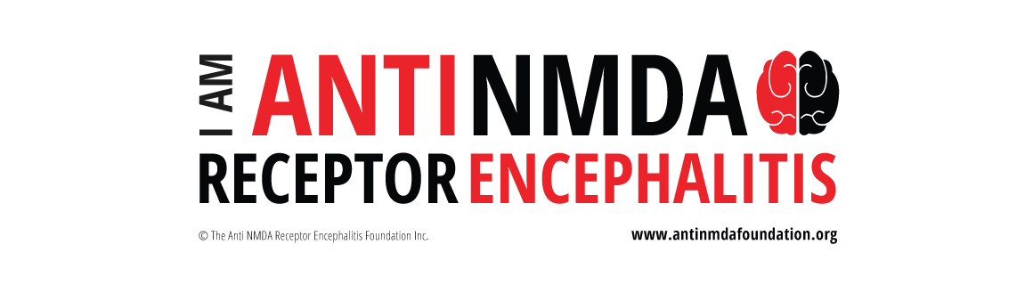 The Anti NMDA Receptor Encephalitis Foundation Inc. bumper sticker